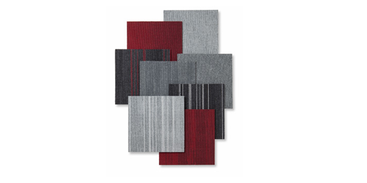 Milliken further expands product range to include functional hard-back carpet tile collection: INITIO